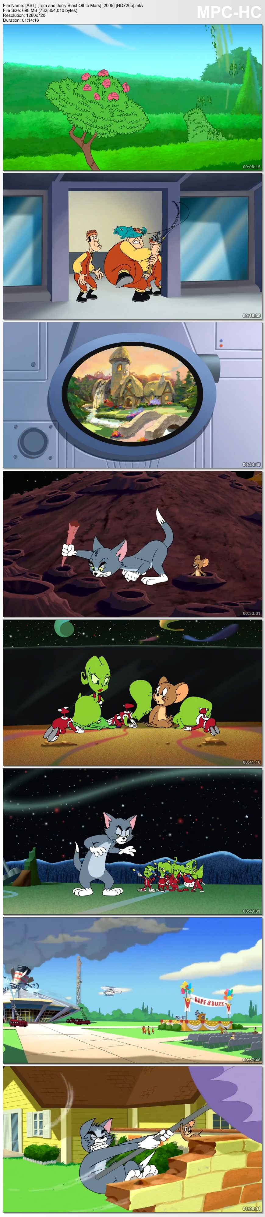 tom and jerry blast off to mars trailer - photo #30